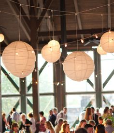 I love hanging lanterns for any occasion! They would be so cute hanging on trees at the picnic.