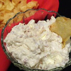 This is our family dip recipe. We have it at every family gathering, and it's just not the same without it.