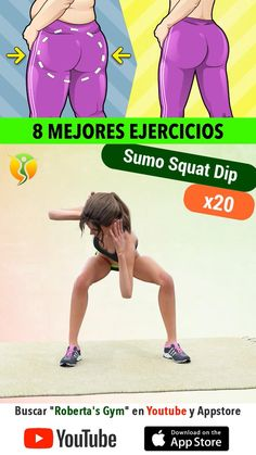 Full Body Gym Workout, Gym Workout Videos, Gym Workout For Beginners, Fitness Workout For Women, Butt Workout, Easy Workouts, Exercice Step, Flexibility Workout, Nerve Pain