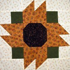 State Fair Sunflower Quilt Block – My Quilt Place