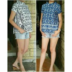 Short Sleeve Blouse, Sleeves, Tops, Women, Fashion, Moda, Women's, La Mode, Shell Tops