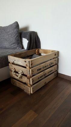 Caisse de rangement vintage