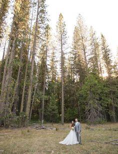 Outdoor Yosemite wedding