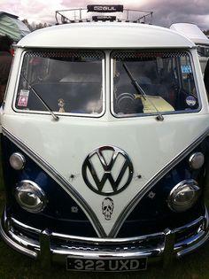 Slammed VW Camper Van by JacquiJSB, via Flickr
