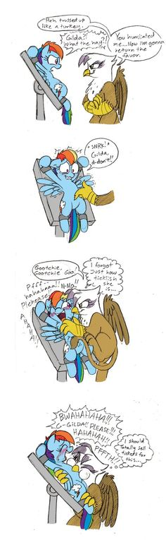 Gilda's Revenge .:Comission:. by Mickeymonster on DeviantArt