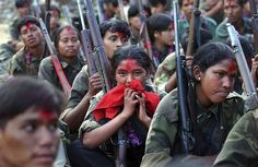 maoist, ami vital, insurg, small arm, allow women, guerrilla, 50000, children, nepal