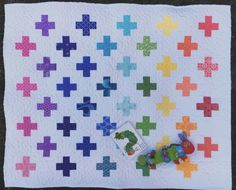 Swiss Cross Quilt - Custom Quilts by Stitched