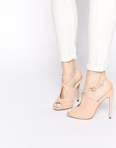 ASOS | ASOS HATCHED Heeled Sandals at ASOS