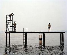 Chris Steele-Perkins ITALY. Brescia. Lake Garda. Diving platform. 2003. via Leica on Instagram - #photographer #photography #photo #instapic #instagram #photofreak #photolover #nikon #canon #leica #hasselblad #polaroid #shutterbug #camera #dslr #visualarts #inspiration #artistic #creative #creativity