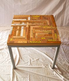 Yardstick-top End Table — Timber Furniture KC