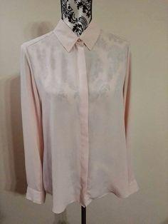 Koszula pudrowy róż rozm 42 XL