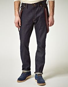 Lee 101 Logger Relaxed Selvedge Jeans
