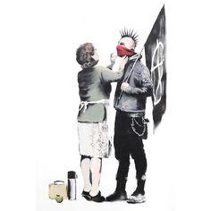 banksy/ punk