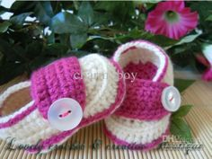 New born Baby Girl Knitted Shoes