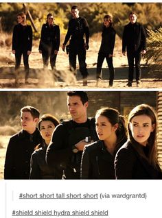 Agents of Shield. It's like a weird game of duck duck goose
