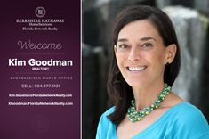 BERKSHIRE HATHAWAY HOMESERVICES FLORIDA NETWORK REALTY WELCOMES KIM GOODMAN