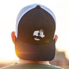 47e44137ed5 Natty Boh Logo (Black w  White Mesh)   Trucker Hat