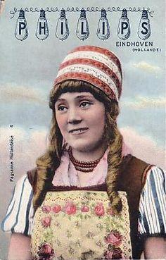 Marken, Philips postcard, photo by Maurits Binger, ca. 1911 #NoordHolland #Marken