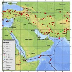 Why are there more intense earthquakes in Iran than in Iraq, if they are so close together? I often hear news items of earthquakes in Iran that are higher on the Richter Scale than those that happ. Geography, Iran, This Or That Questions