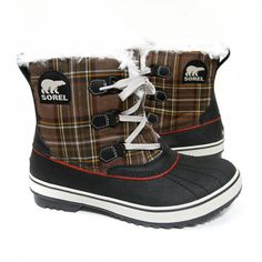 Sorel 'Tivoli' Boot (Hawk Plaid)
