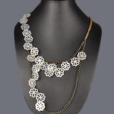 Featuring this beautiful Snow Flakes necklace in our wide range of necklines. Grab yourself one, Now!