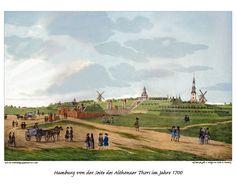 Historische Ansichten Hamburgs von 1150 bis 1800 - hamburg.de