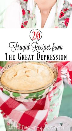 20 Frugal Depression Era Recipes - Expolore the best and the special ideas about Frugal meals Budget Freezer Meals, Frugal Meals, Groceries Budget, Frugal Tips, Healthy Dinners, Dinner Healthy, Healthy Food, Easy Meals, Healthy Eating