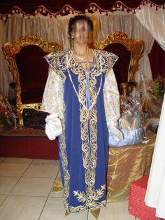 Robe de mariée traditionnelle constantinoise