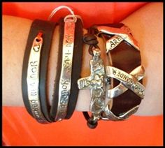 Island Cowgirl Leather Bracelets