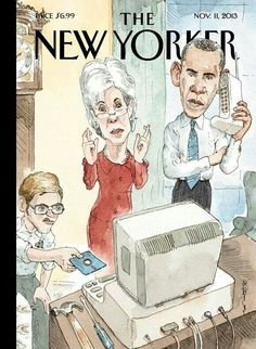 One of the most progressive rags out there...The  New Yorker's latest cover