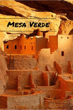 Mesa Verde National Park! It's a Must Do