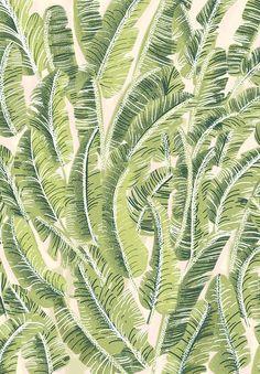 Banana Leaf Pattern by chotnelle