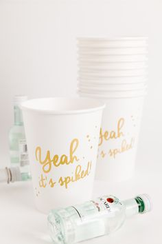 yeah, it's spiked! cups by Sucre Shop | Sucre Shop