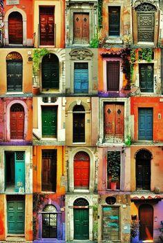 Different door collection. By: Vancaro
