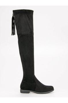 Klasické čižmy nad koleno RS Knee Boots, Platform, Shoes, Fashion, Wedge, Zapatos, Moda, Shoes Outlet, La Mode