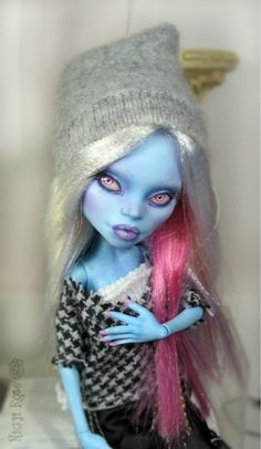 OOAK Monster High Abbey Repaint by Nickii Rose  | eBay
