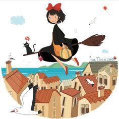 küçük cadı Kiki - Halime Keskin #büyükleremasallar #HayaoMiyazaki #KikiDeliveryService
