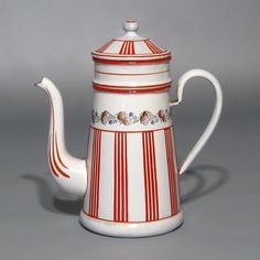 Vintage French enamel