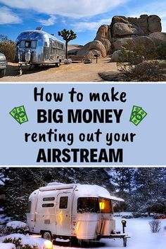 Renting out your Airstream is a big decision to make. But with companies like Outdoorsy and RVshare renting out your Airstream for big money is easy and. Airstream Rental, Airstream Camping, Travel Trailer Camping, Rv Rental, Camping Tips, Airstream Interior, Vintage Airstream, Airstream Trailers