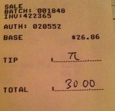 Pi! such a math nerd thing to do