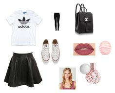 """"" by yasminael on Polyvore featuring mode, Pilot, adidas Originals, Converse, Wolford, Smashbox en River Island"
