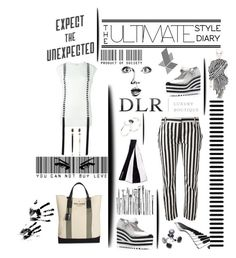 """""""DLR-Expect the unexpected"""" by zabead ❤ liked on Polyvore featuring Marc by Marc Jacobs, Dolce&Gabbana, Yves Saint Laurent, Giambattista Valli, Maison Margiela, GE, Antonio Berardi, Daniela Villegas, Valentino and women's clothing"""