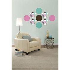 WallPops Espirit Dots #walldecals  #wallart  #peelandstick  #WallPops  #wallstickers  #decor  #DIY  #decorating