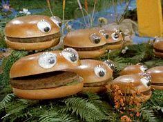 The McDonaldland Hamburger Patch. (late 1970 ~ early 1971)