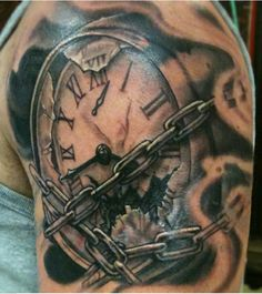 Broken time piece