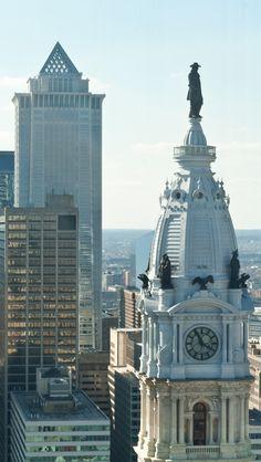 William Penn Statue Philadelphia United States