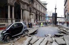 Um submarino no meio da rua! Foi isso que alguns moradores de Milão viram ao acordar. Acreditando ser um acidente real, eles na verdade acab...