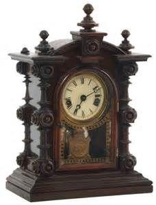 E.N. Welch Patti  no 2 baby mantle clock  Half Patti