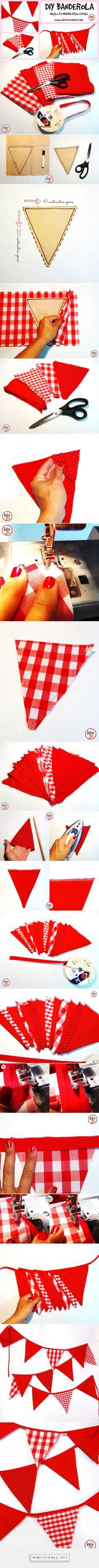 Como hacer una Banderola / Hazlo tu misma con este tutorial! How to make a…