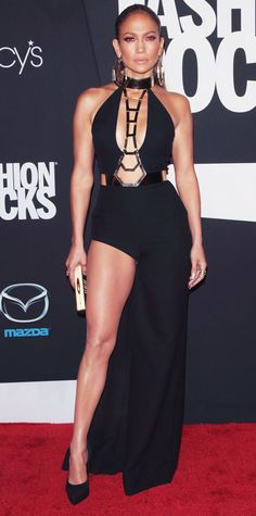 Looks from the Fashion Rocks 2014 Red Carpet - Jennifer Lopez from #InStyle Bella Donna